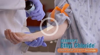 Ethyl Chloride IV Start Video