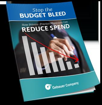 Gebauer Ebook - Stop Budget Bleed